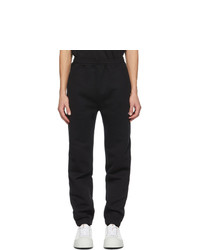 MSGM Black Logo Jogger Lounge Pants