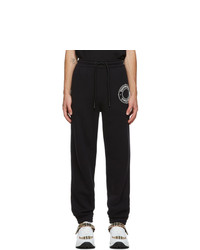 Burberry Black Logo Lounge Pants