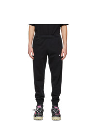 Off-White Black Logo Lounge Pants
