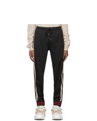 Gucci Black Logo Lounge Pants