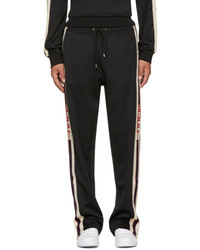 Gucci Black Logo Tape Track Pants