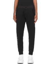 DSQUARED2 Black Monotone Icon Lounge Pants