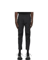 Julius Black Nilos Paneled Track Pants