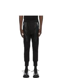 Julius Black Nilos Zip Pocket Lounge Pants