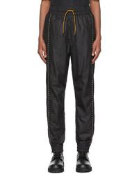 Fendi Black Nylon Lounge Pants