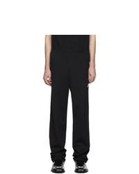 Balenciaga Black Nylon Track Pants