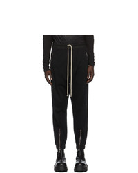 Rick Owens Black Performa Lounge Pants