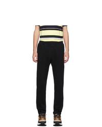 Stella McCartney Black Piet Jersey Lounge Pants