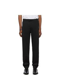 Givenchy Black Pique Lounge Pants