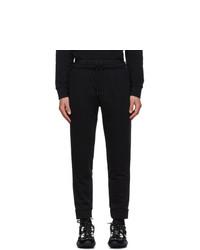 Fendi Black Plain Lounge Pants