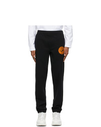 Burberry Black Shark Graphic Applique Lounge Pants
