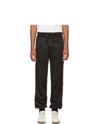 Givenchy Black Side Band Jogging Lounge Pants