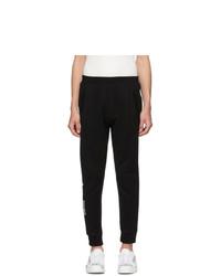 DSQUARED2 Black Ski Fit Icon Lounge Pants