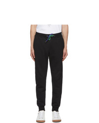 Ps By Paul Smith Black Slim Jogger Lounge Pants