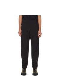 Moncler Black Sport Lounge Pants