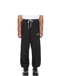 Nike Black Swoosh Lounge Pants
