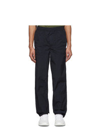 Moncler Black Taffeta Sport Lounge Pants