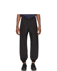 Prada Black Techno Poplin Lounge Pants