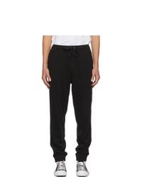 Burberry Black Tuckford Lounge Pants
