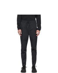 Nike Black Twill Sportswear Lounge Pants