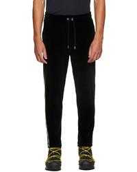 Moncler Black Velour Lounge Pants