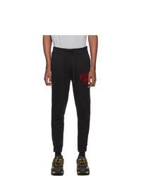 Polo Ralph Lauren Black Vintage Fleece Lounge Pants