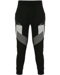 Neil Barrett Block Panel Tapered Sweatpants