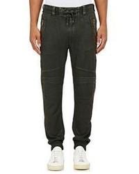 Ralph Lauren Black Label Coated French Terry Sweatpants Green
