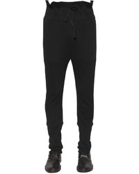 Ann Demeulemeester Cotton Jersey Sweatpants