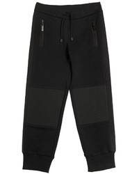 Roberto Cavalli Cotton Jogging Pants W Nylon Details
