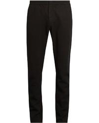 Sunspel Elasticated Waist Slim Fit Trousers
