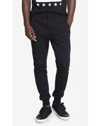 Express Jogger Black Double Knit Pant