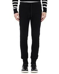 Dolce & Gabbana French Terry Jogger Pants Black