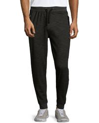 Sovereign Code Juan Slub Zip Pocket Jogger Pants Black