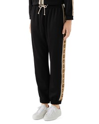 Gucci Loose Technical Jersey Jogging Pants