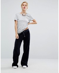8367c8b91fc Juicy Couture Malibu Wide Leg Velour Jogging Bottom