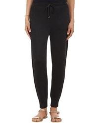 Missoni Metallic Knit Jogger Pants Black