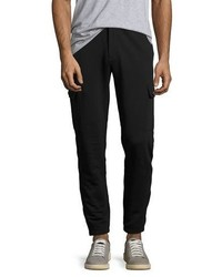 Michael Kors Michl Kors French Terry Cargo Sweatpants Black