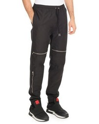 Givenchy Moto Jogger Pants With Zippers Black