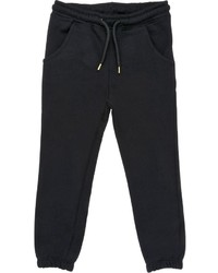 MSGM Cotton Fleece Jogging Pants