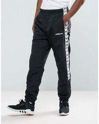 adidas Originals Adicolor Tnt Tape Wind Track Joggers In Black Aj8830