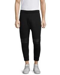 Neil Barrett Ribbed Cotton Sweatpants