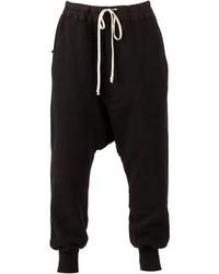 Rick Owens Drkshdw Drop Crotch Sweat Pants