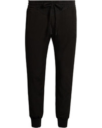 Haider Ackermann Saglia Cotton Blend Twill Track Pants