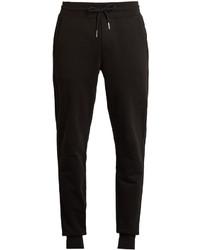 Moncler Slim Leg Cotton Jersey Track Pants