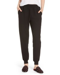 Stretch crepe jogger pants medium 4952897