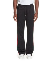Gucci Technical Jersey Flare Pants