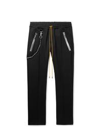 Rhude Traxedo Tapered Tech Jersey Drawstring Trousers
