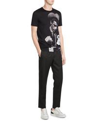 Dolce & Gabbana Wool Cotton Jogging Pants