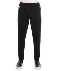 Givenchy Wool Jogger Pants Black